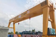 50 + 50 ton gantry crane