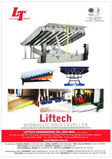 Liftech's Hydraulic Dock Leveller